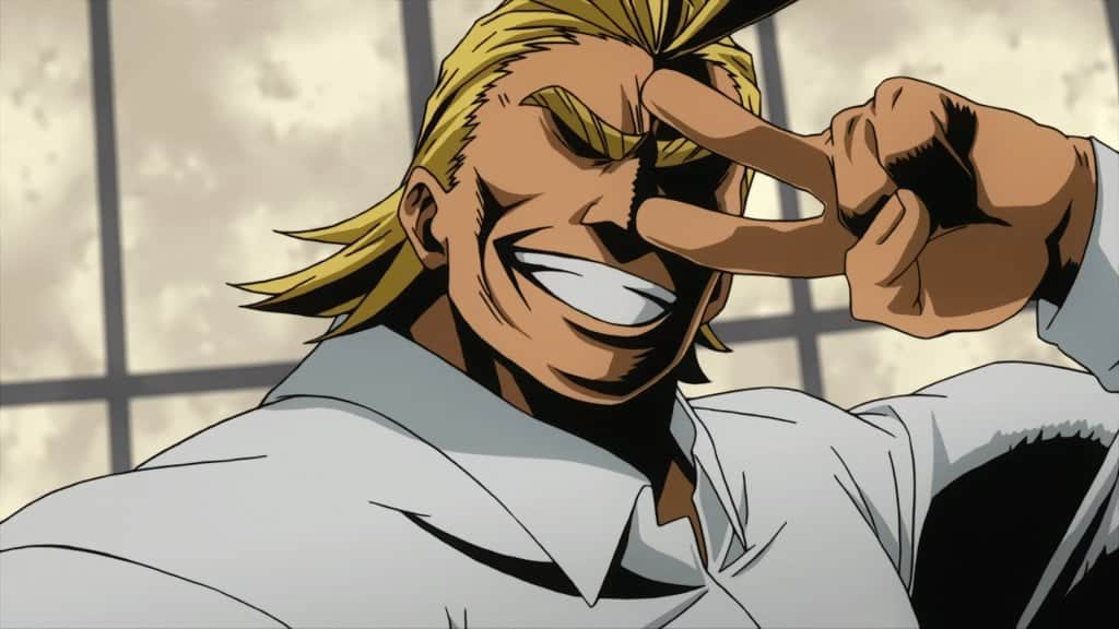 9 Best All Might quotes from My Hero Academia