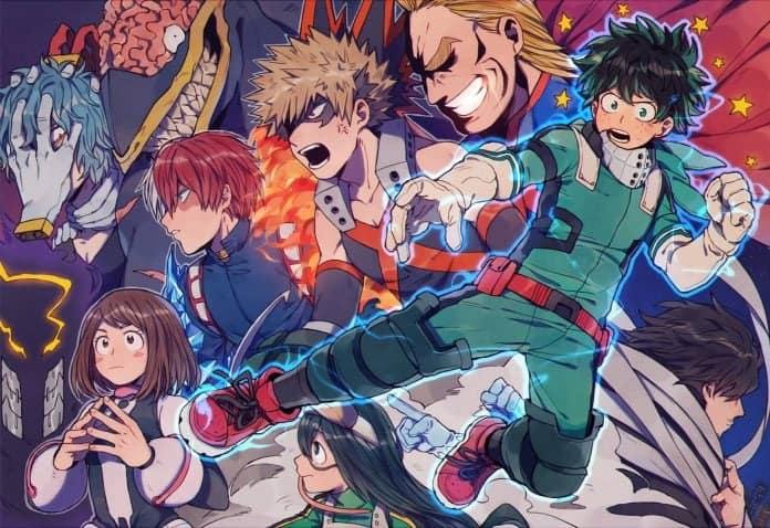 Boku no Hero Academia Chapter 262