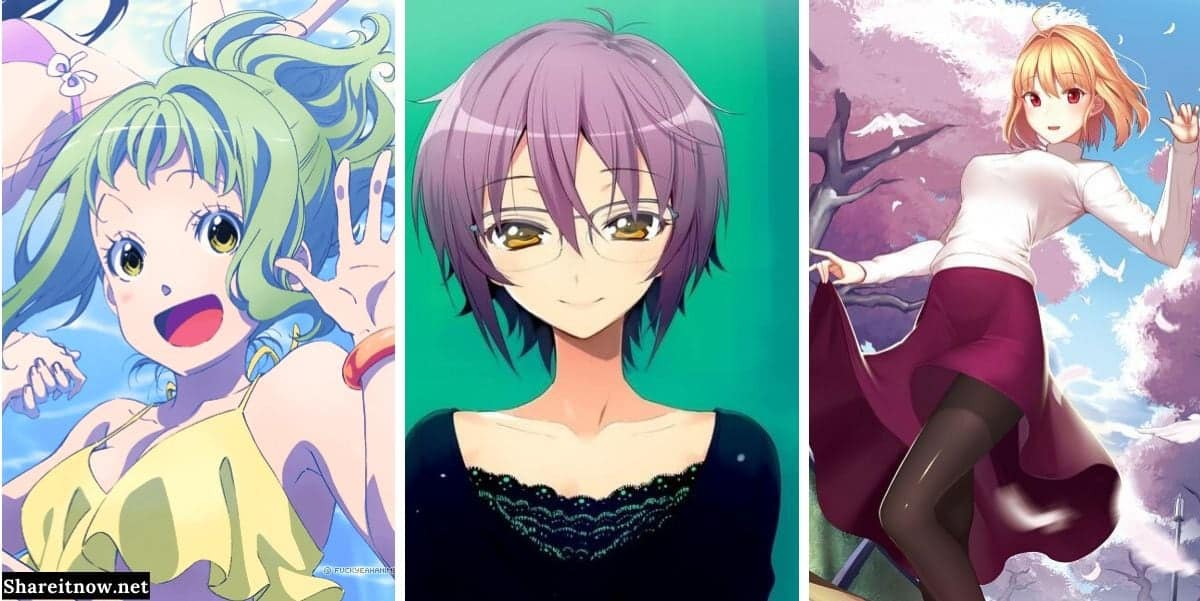 31 Best Anime Girls With Short Hair Manga Anime Spoilers And Quotes