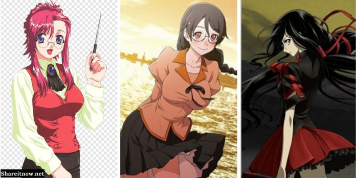 cute anime girls with glasses (2)