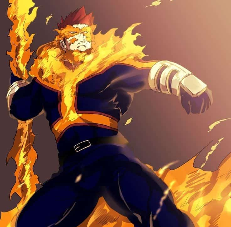 my hero academia 274 Endeavor