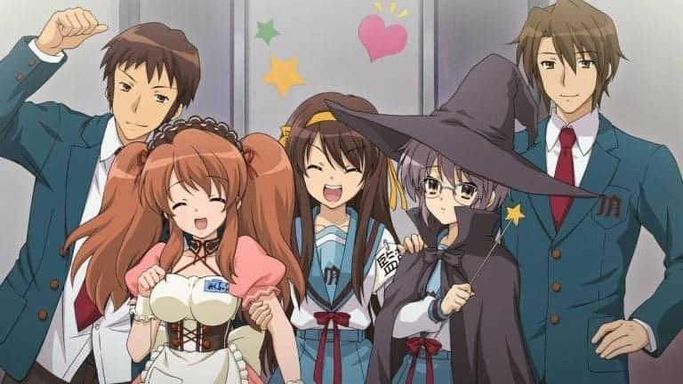 the Haruhi Suzumiya Series