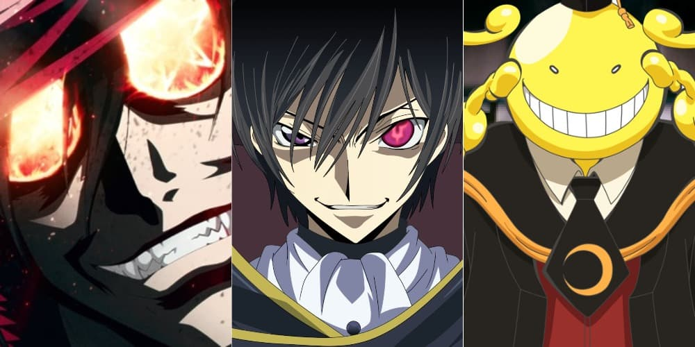 anime with villain protagonist